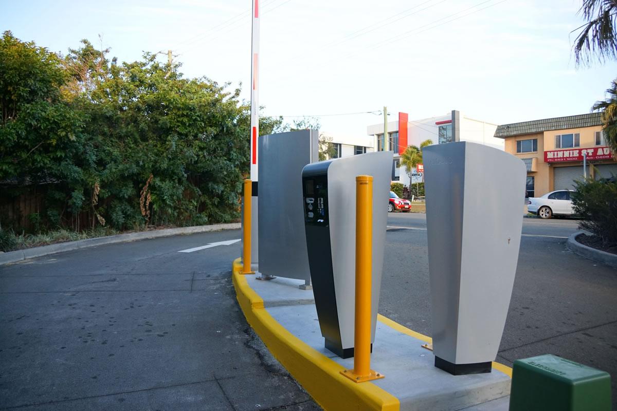 Minnie Street Southport Parking Ticket Machine System - Car Parking Solutions Australia