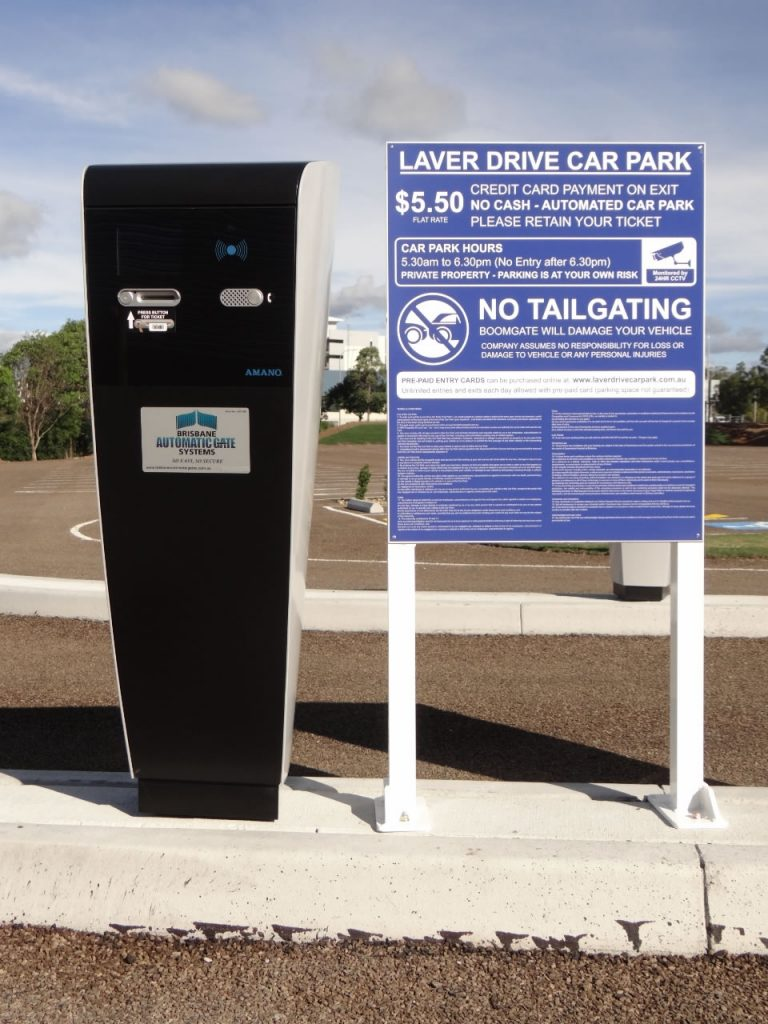 Parking Ticket Machine System Car Parking Solutions