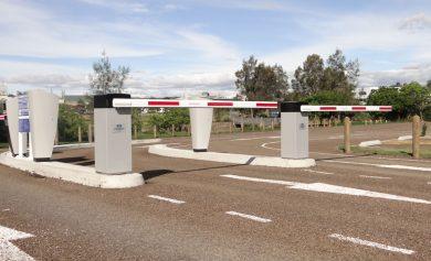 Automatic Boom Gate Car Parking System Gold Coast Brisbane Amano