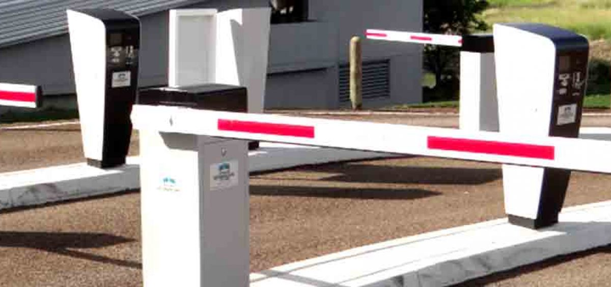 Automatic Boom Gate Car Parking System Gold Coast Brisbane Amano
